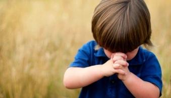 Little Boy in Prayer